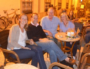 Enjoying Portugal with Richard and Ros Plume