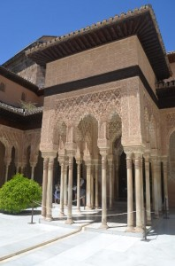The wonders of Alhambra Palace