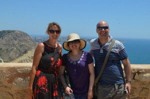 On top of Alicante
