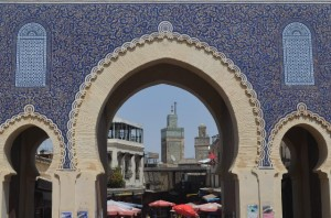 Blue Gate entry into Fes