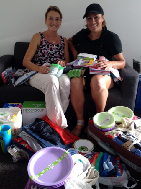 Brydie Canham of Bmedia and friends has donated a heap of stuff!